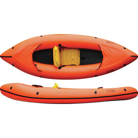 nortik FamilyRaft Boat orange/black